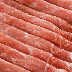 豚肉モモ うす切り 128円(税抜)