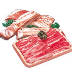 豚ばら肉・かたまり うす切り 148円(税抜)