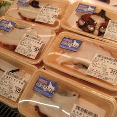 北海蒸したこ刺身 258円(税抜)