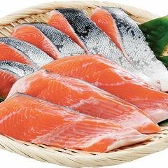 生銀鮭切身(養殖) 185円(税抜)