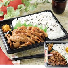 豚バラ肉の生姜焼弁当 498円