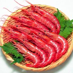 有頭赤えび刺身用(解凍) 45円(税抜)