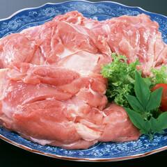 越の若どりもも肉 100円(税抜)