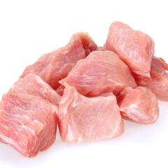 豚モモ赤身カレー用 98円(税抜)