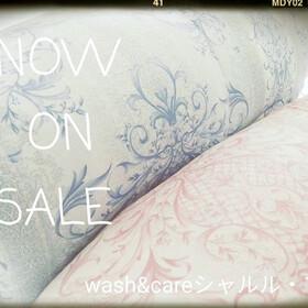 温水洗い♪羽毛布団 4,600円(税抜)