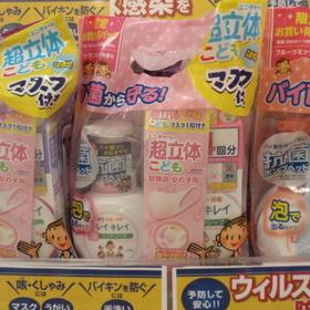 キレイキレイ泡 本体+詰替 各種 398円(税抜)