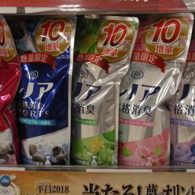 レノア本格消臭詰替 各種 184円(税抜)
