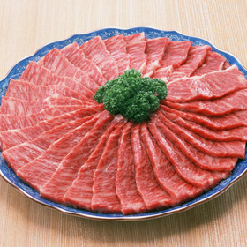 穀物肥育牛カルビ(ばら)焼肉 298円