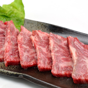 交雑牛バラカルビ焼肉用 497円(税抜)