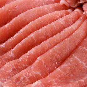 輸入豚ロース肉(スライス) 108円(税込)
