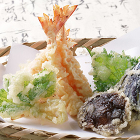 徳用玉ねぎ天・野菜てんぷら 299円(税抜)