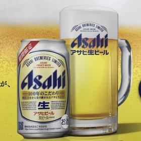 アサヒ 生ビール 178円(税抜)