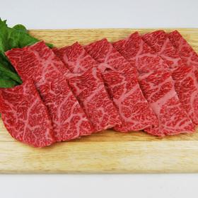 和牛肩ロース肉(焼肉用) 698円(税抜)