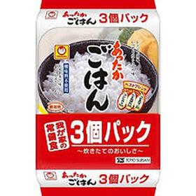 あったかごはん 3P 198円(税抜)