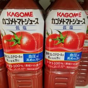 カゴメトマトジュース低塩 178円(税抜)