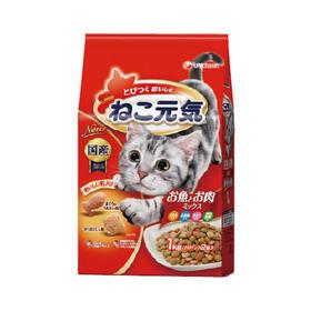 ねこ元気 お魚とお肉ミックス 338円(税抜)