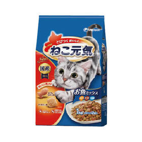 ねこ元気 お魚ミックス 338円(税抜)