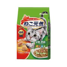 ねこ元気 お魚と野菜ミックス 338円(税抜)