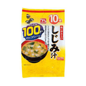 体にやさしいしじみ汁 168円(税抜)