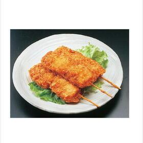 豚玉ねぎ串カツ 198円(税抜)
