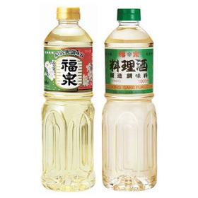 料理酒・みりん風調味料 137円(税抜)