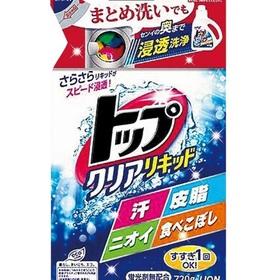 トップクリアリキッドつめかえ用 168円(税抜)