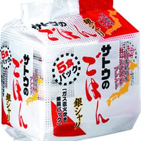 サトウのごはん銀シャリ 430円(税込)