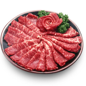 黒毛和牛手切り焼肉用 697円(税抜)