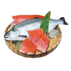解凍 銀鮭(甘口)切身 養殖 159円(税抜)
