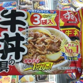 すき家牛丼の具 398円(税抜)