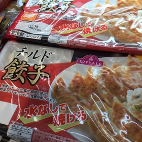 チルド餃子 158円(税抜)