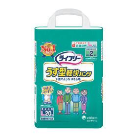 ライフリーうす型軽快パンツL 1,380円(税抜)