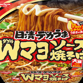 日清 デカうまWマヨソース焼そば 88円(税抜)