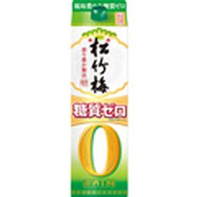 松竹梅 天 糖質ゼロパック 780円(税抜)