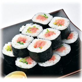 【寿司】ねぎとろ中巻 16カン+2カン増量 429円(税込)