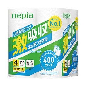 ネピア 激吸収キッチンタオル 268円(税抜)