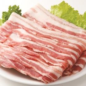 豚肉ばらスライス切りおとし(解凍) 118円(税抜)