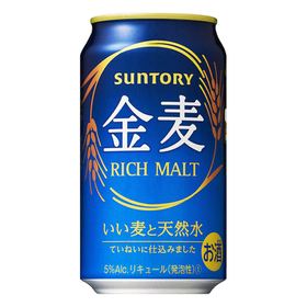 金麦 レギュラー 350ml×6 577円(税抜)