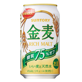 金麦 糖質75%オフ 350ml×6 577円(税抜)