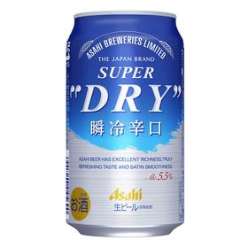 スーパードライ 瞬冷辛口 350ml×6 1,047円(税抜)