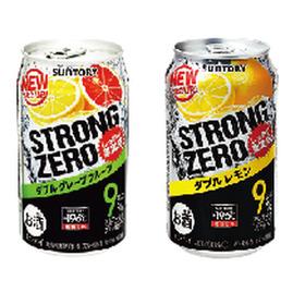 ー196℃ストロングゼロ・レモン ドライ ビターレモン グレープフルーツ 100円(税抜)