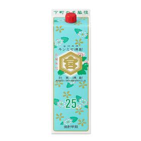 亀甲宮キンミヤ焼酎25度パック 1,397円(税抜)