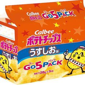 ポテトチップスうすしおゴー5パック 198円(税抜)
