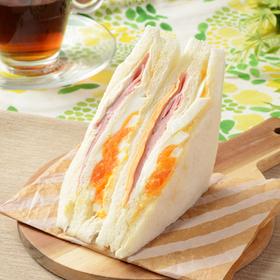 ハムチーズたまごサンド(増量) 280円