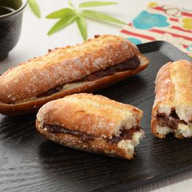マチノパン あんことバターのフランスパン 150円