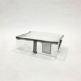 フタ付きクリアフラットボックス(BL) 300円(税抜)
