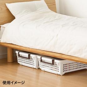 ハンディーバスケット ホワイト 698円(税抜)
