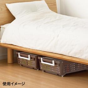 ハンディーバスケット ブラウン 698円(税抜)