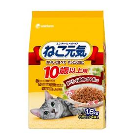 ねこ元気 1.6kg/2kg 537円(税抜)