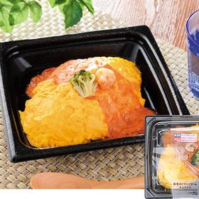 海老のトマトクリームオムライス 498円
